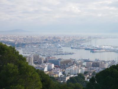 2019-2020年末年始バルセロナ&マヨルカ島 その11 ベルベル城からパルマの街を眺めてみる