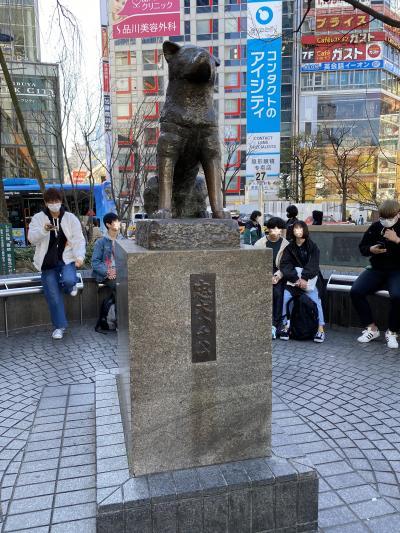 2020年の春分の日はコロナ禍、でもどこか行きたいよー渋谷に行って来ました。