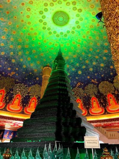バンコク・シェムリアップ・クアラルンプール周遊旅行 ⑦ ~ワット・パクナムとワットアルンのライトアップディナー~