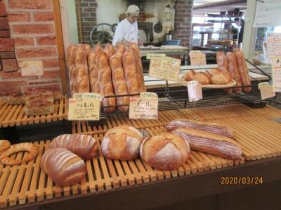 流山市の柏の葉・石窯パン工房 サフラン