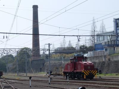 もうすぐお別れ 世界遺産じゃなくて現役の炭鉱電車
