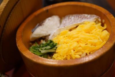 20200326-2 松山 五志喜さんでお昼ごはん。今日は松山の鯛めしで。