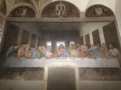 Milano(ミラノ) 3回目 2日目(サンタ・マリア・デッレ・グラツィエ教会「最後の晩餐」、サッカー観戦)