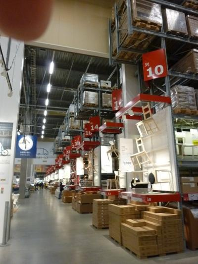初『IKEA』・・コストコやニトリに共通点‥多数だね ^^!