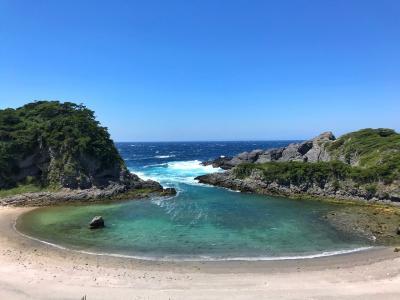 チャリで大冒険と温泉めぐりの式根島へ GW2泊3日