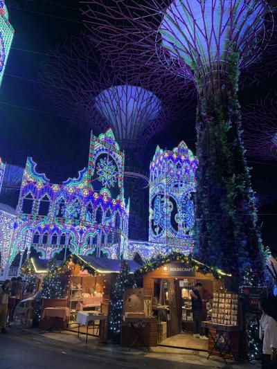 シンガポールで真夏のクリスマス