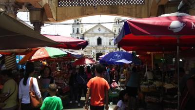 14年ぶりのマニラ観光 サン・セバスチャン教会とキアポ教会