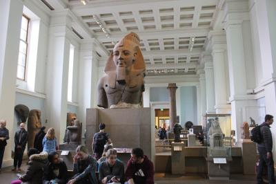 ロンドン 大英博物館へ