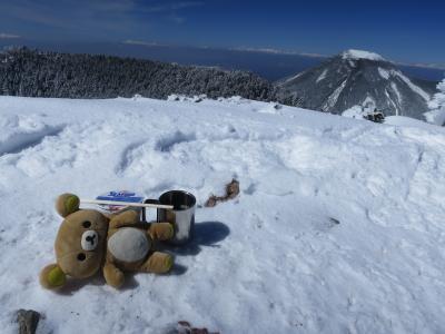 雪山の北横岳行って来るクマその2