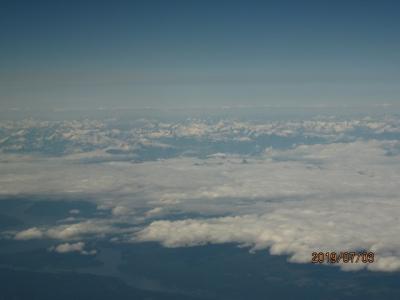 ANAビジネス利用カナディアンロッキーと西部2都市 ⑤バンクーバー、帰国便