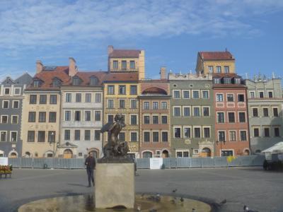 ワルシャワ市内散策(1605)
