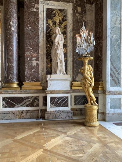 女1人でパリ9泊+モンサンミッシェル1泊(その8/エッフェル塔とヴェルサイユ宮殿