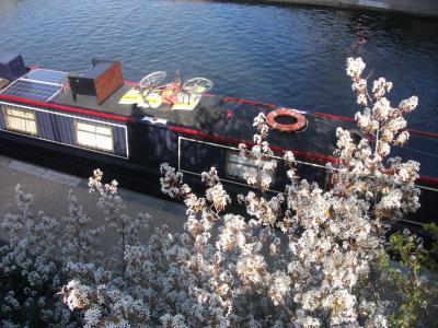 春のロンドン~キングスクロス周辺・リージェンツ運河