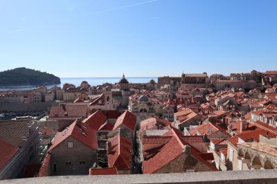 クロアチアの旅 2日目その1(ドブロブニク)