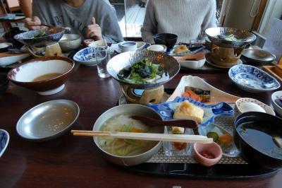 春休みのエクシブ山中湖1泊 日本料理 花木鳥の朝食