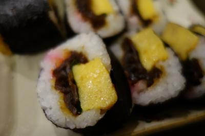 20200330-2 別府 べっぷ駅市場の野田商店、巻き寿司買って帰ります