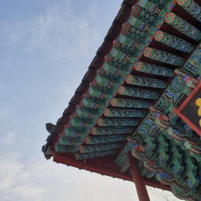 韓国のユネスコ世界遺産スポットでお寺巡り♬