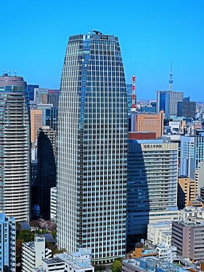 芝公園-3 東京タワー メインデッキ150m~東西南北360度展望 ☆Skytree-見つけた!