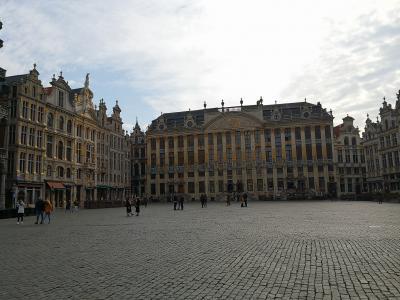 アフリカのはずがヨーロッパ2週間周遊旅行*その10*ベルギー・ブリュッセルとブルージュ
