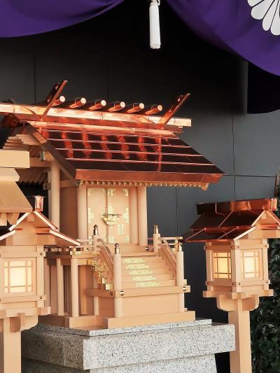 芝公園-4 東京タワー デッキ内2-1階 皇大神宮神殿・透明床窓も ☆足元/フットタウンで