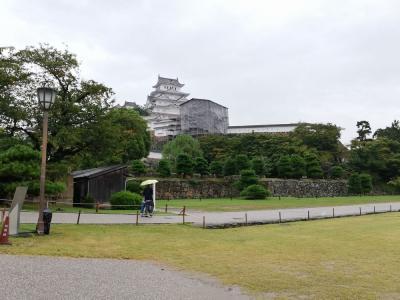 たまにはベタな観光旅行1909 「25年ぶりに姫路城を訪れ、帰りには明石焼きをいただきました。」  ~姫路&明石~