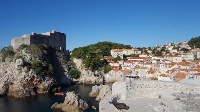 クロアチアの旅 3日目(ドブロブニク~スプリットへ)