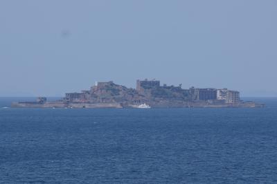 20200402-1 野母 展望台から軍艦島眺めて → 軍艦島カレー食うて → 軍艦島資料館見学して