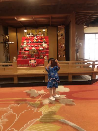 ホテル三日月鴨川 三世代旅行 温泉プール堪能