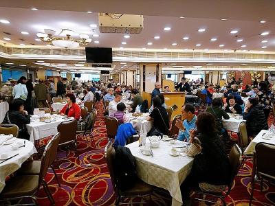 香港★香港は今日も元気です 久しぶりにMTRに乗ってお出かけ 思ったよりもにぎやかで驚いた飲茶 ~倫敦大酒樓・九龍公園・星光大道~