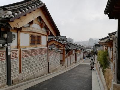 コロナの騒動の中のソウル訪問