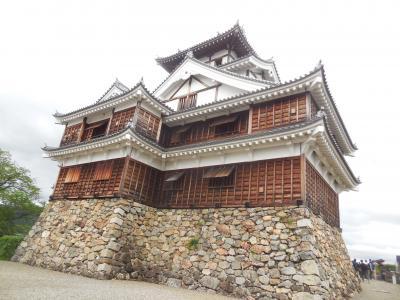 大阪の秘密基地から鳥取に帰省途中にぶらりと/明智光秀のお城のひとつ福知山城へ