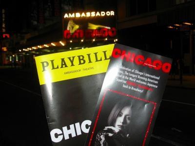 """米倉涼子主演:ミュージカルCHICAGO in Broadway """"ついにNYまで米倉涼子主演:ミュージカルCHICAGOを見に行く旅""""⑤"""