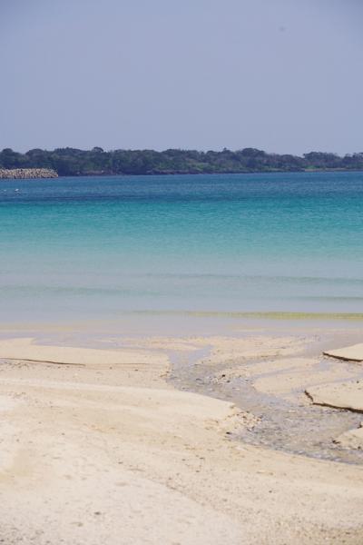 20200404-3 五島 香珠子ビーチまで、砂浜眺めに
