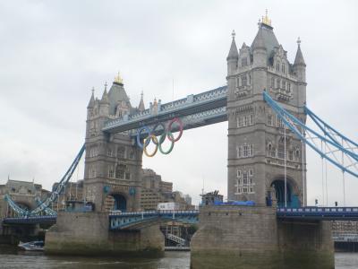 初めてのロンドン(2012年7月)オリンピック直前の街歩きからストーンヘンジまで