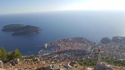 クロアチアの旅 2日目その2(ドブロブニク)