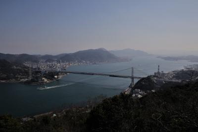 2020年4月 門司港・下関 関門海峡散策 第3部 (後編) 下関火の山公園と門司港レトロ