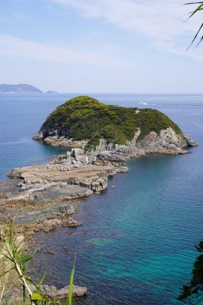 20200406-5 五島 舅ヶ島海水浴場と千畳敷