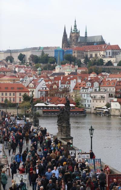 ヨーロッパ鉄道の旅2019 第7回 ウィーンからプラハへ From Wien to Praha