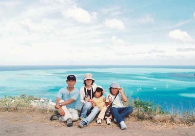 夢と散ったタヒチ再訪と、回想録☆2003年8月 結婚10周年記念タヒチ家族旅行