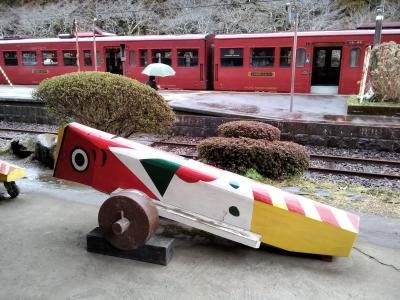 ぶらり湯けむり霧島・熊本;2日目-1 肥薩線に乗る「いさぶろう・しんぺい号」で人吉まで