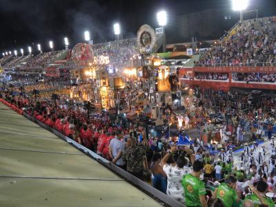 ブラジル リオデジャネイロ カーニバル