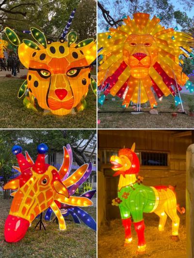 台湾燈會在台中2020.2月ランタンフェスを見尽くす旅!②二日目、緑光計畫范特喜文創聚落、向上水餃、ランタンサブ会場馬場園區