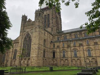 世界遺産ダラム大聖堂とダラム城とノッティンガム城と ケンブリッジ大学周辺に行く。