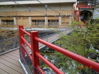 2020年3/31~4/1(^-^)修善寺☆湯回廊「菊屋」水の語り部♪新客室にお泊まり!!!