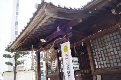 20200410-4 熊本 水前寺公園の途中に、味噌天神