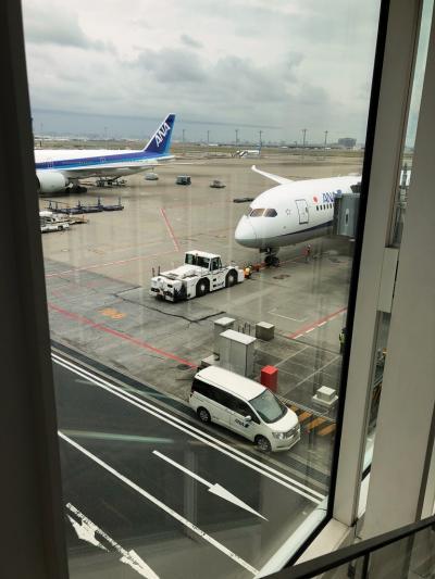 2018年羽田空港からバンコクへ