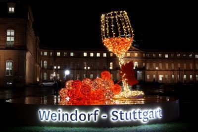 屋台の飾りがたまらない~♪ドイツ最大シュトゥットガルト3つのマルクト クリスマス市巡りの旅10