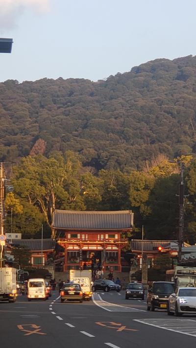 スマホでスナップ・八坂神社と先斗町