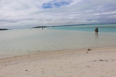 25周年記念 クック諸島 Day5-9(Bishop's Cruise7 ヘブンへと続く白い道)