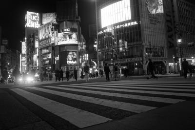 Nights In Tokyo Under Declaration Of A State Of Emergency(新宿、渋谷、銀座)
